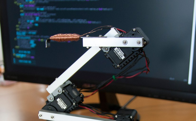Raspberry Pi Robot Arm with simple Computer Vision