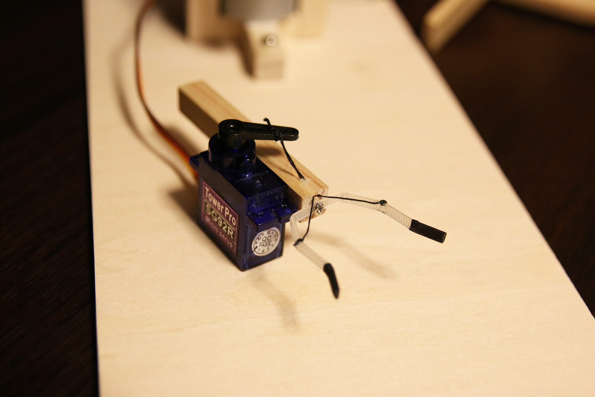 Small Stepper Robot Arm - Electron Dust