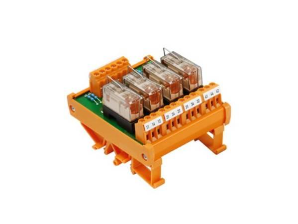 Relaiskoppeling Weidmüller RSM 4RS 24VDC LP GEM.+ 1113461001