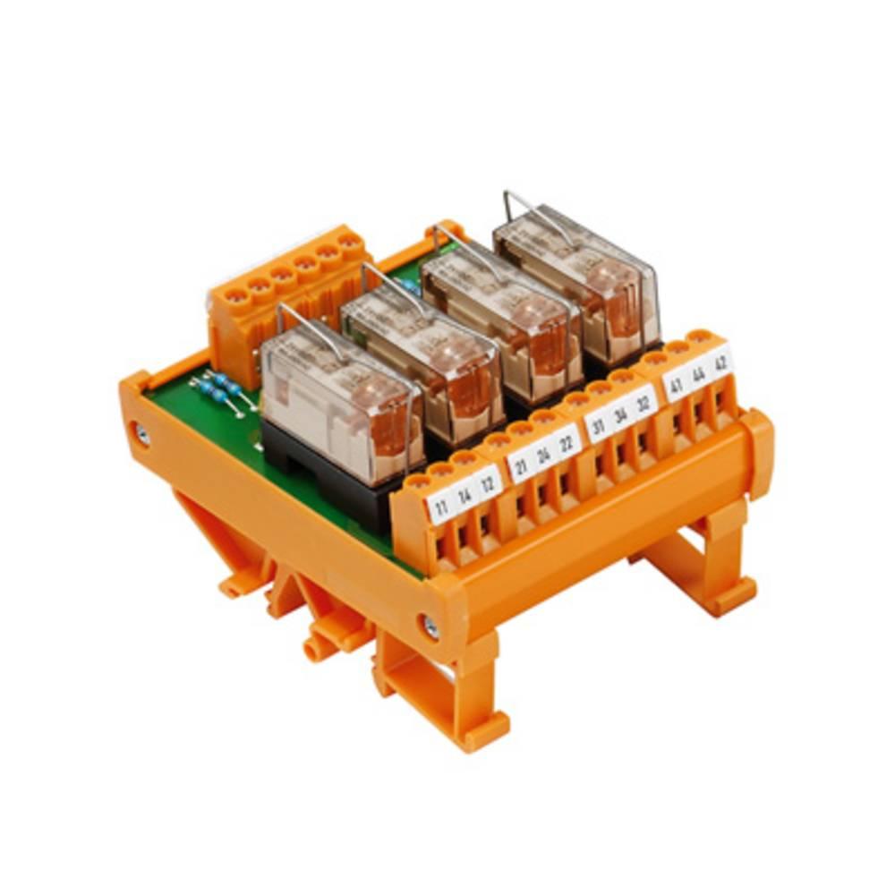Relaiskoppeling Weidmüller RSM 4RS 24VUC LP 1173461001