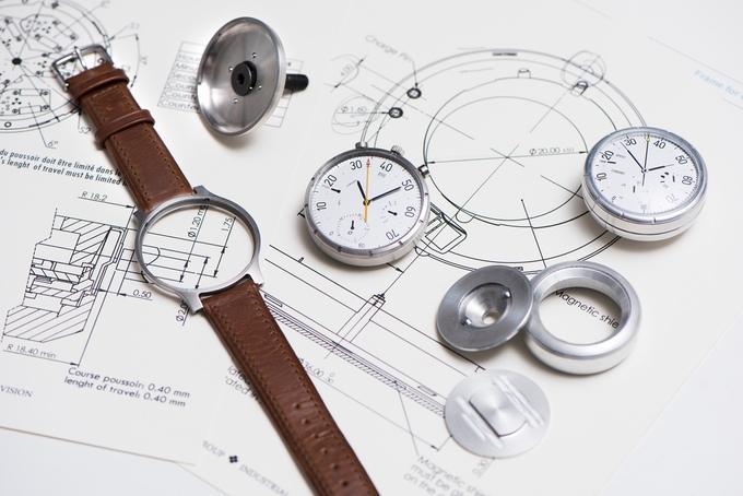 moskito velocimetro analogico reloj suizo