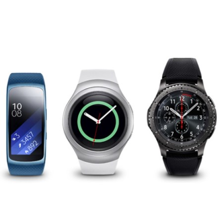 Samsung Gear compatible con Apple