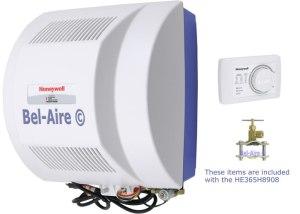 HE365H8908 Honeywell Power FlowThru Humidifier