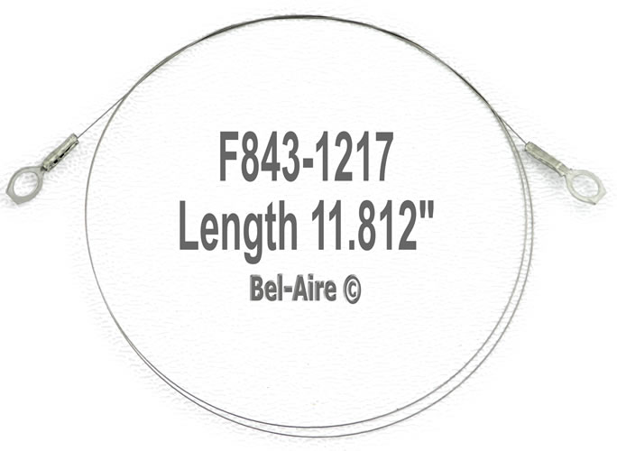 F843-1217 White-Rodgers Ionizing Wire 11.812 inch