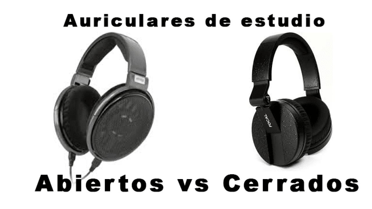 Auriculares abiertos vs cerrados: cuáles dan mejor calidad