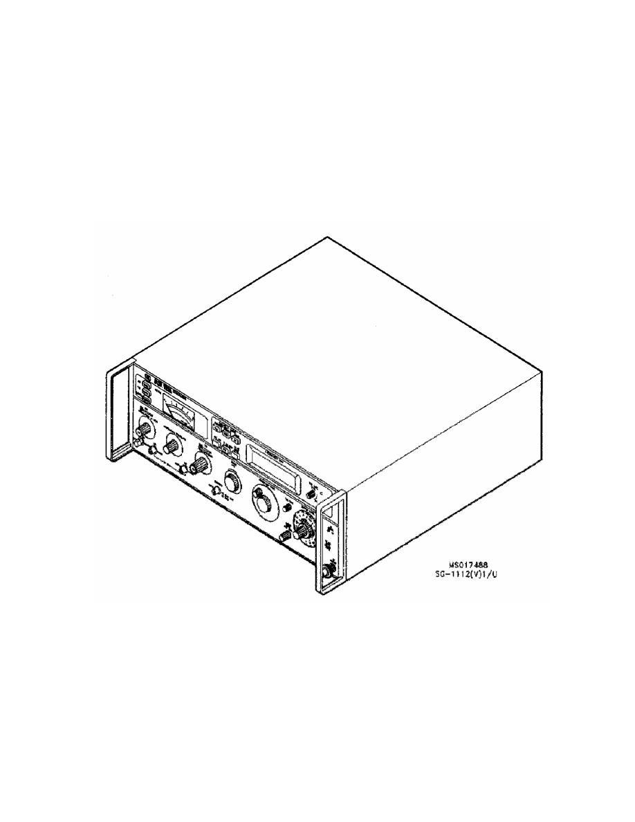 GENERATOR, SIGNAL SG-1112(V)1/U