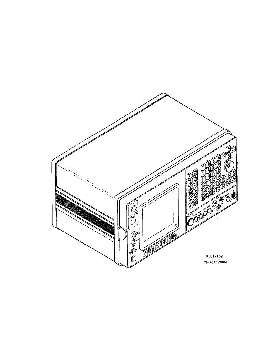 TEST SET, RADIO TS-4317/GRM