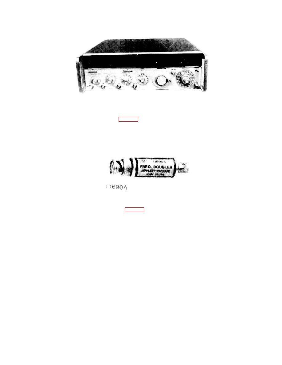 Figure 1-15. Hewlett-Packard, Model 8640B, VHF Signal
