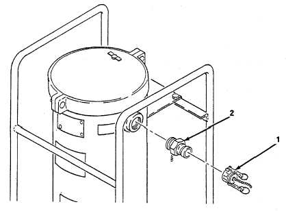 Figure 4-12. Coupling Half Quick Disconnect (Outlet), Replace.
