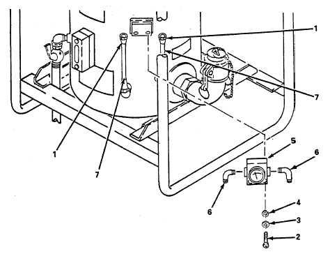Figure 4-16. Differential Pressure Gauge, Replace
