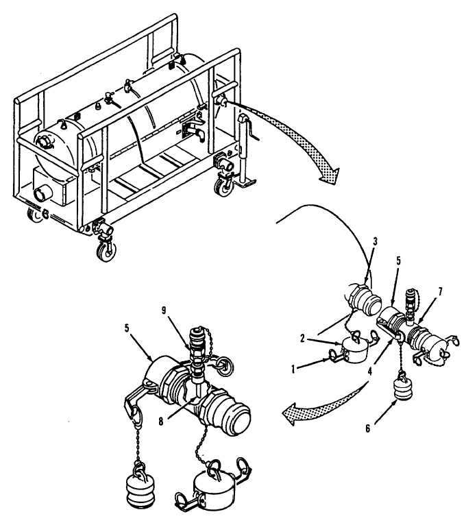 Figure 2-11. Adapter Assembly, Water Detection, Installation.