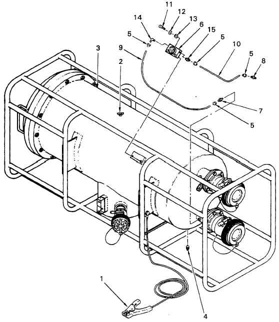Figure 4-12. Pressure Gauge and Inlet/Outlet Line Removal