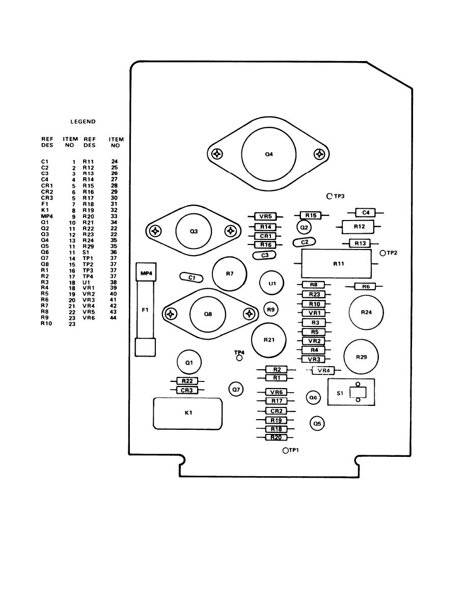 Figure 4. Circuit Card Assembly, YIG Driver, A3