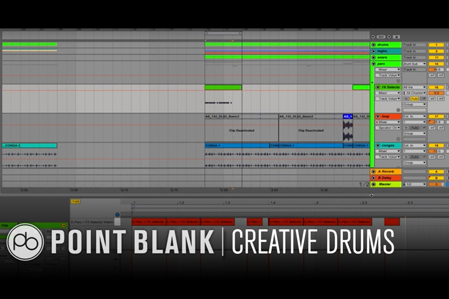 Ableton Live Tutorial: Creative Rhythm Programming