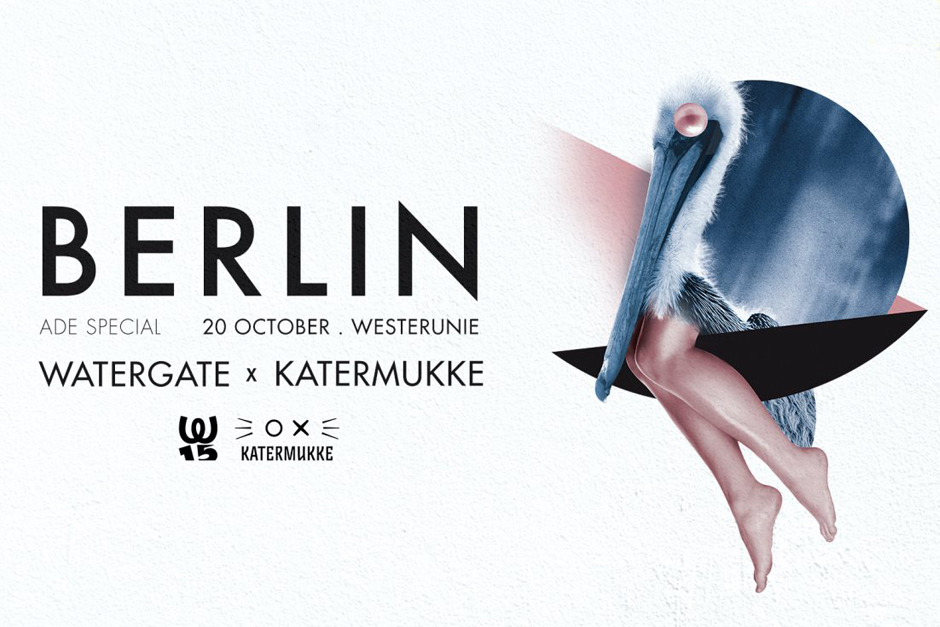 Pleinvrees Partners With Watergate And Katermukke For A Special ADE Event