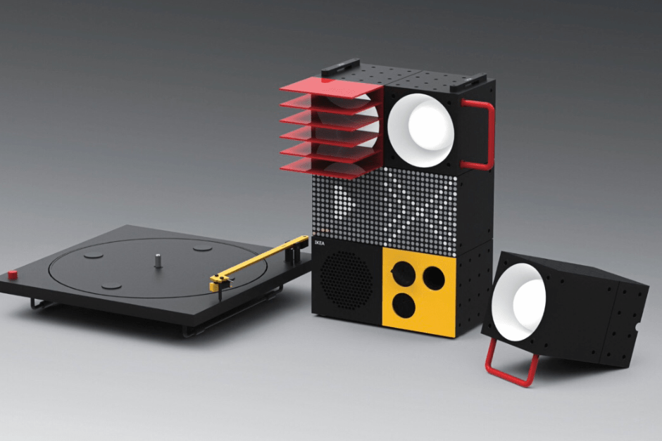 Teenage Enineering And IKEA Team Up To Develop A Home Soundsystem