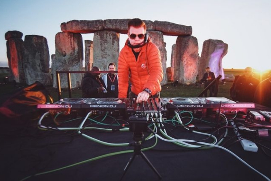 Paul Oakenfold Is The First DJ To Play At Stonehenge