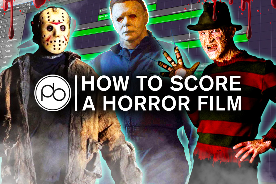 Learn How To Score A Horror Film W/ Point Blank And Download Their Free Halloween Bundle