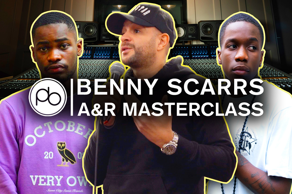 Watch Lead A&R Benny Scarrs (Dave, Tinchy Stryder) Talk Navigating The Music Industry For Point Blank