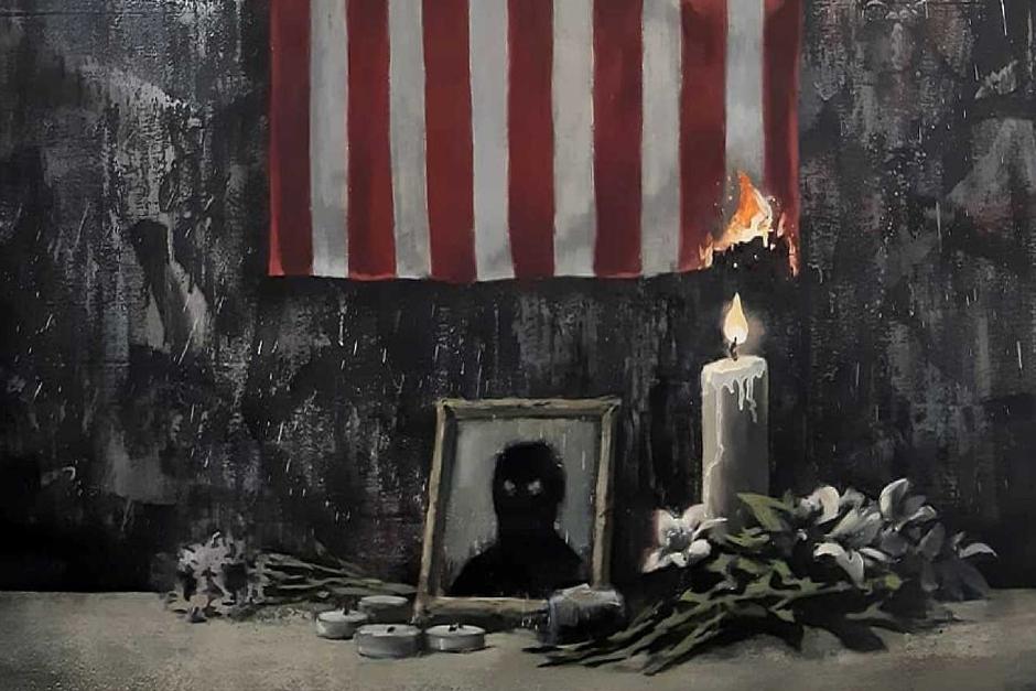 Banksy Backs Black Lives Matter