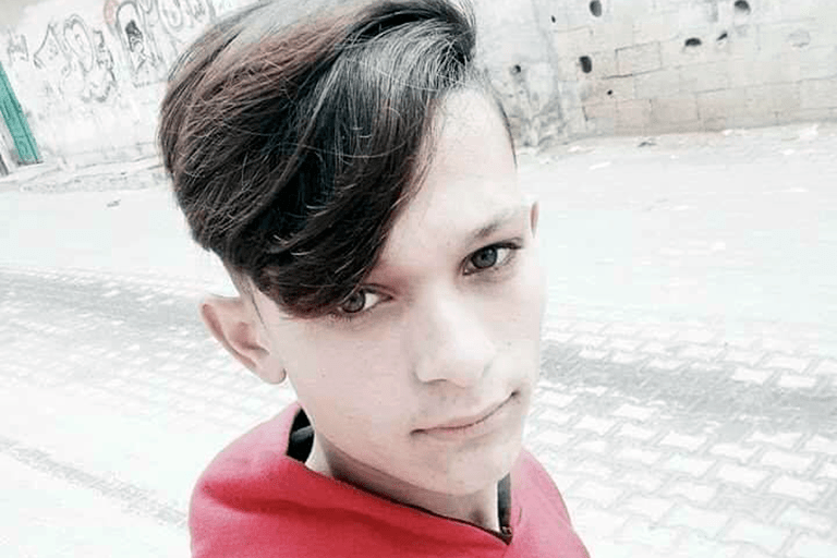 gaza boy killed by