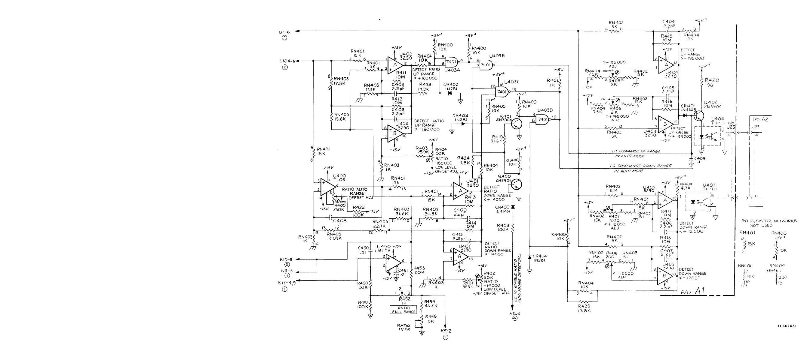 wiring diagram for automotive voltmeter baja 50cc atv figure fo 5 auto range up down detectors a1 schematic