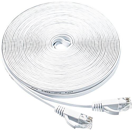 Jadaol Flat Ethernet Patch Cable Short- Internet Cable