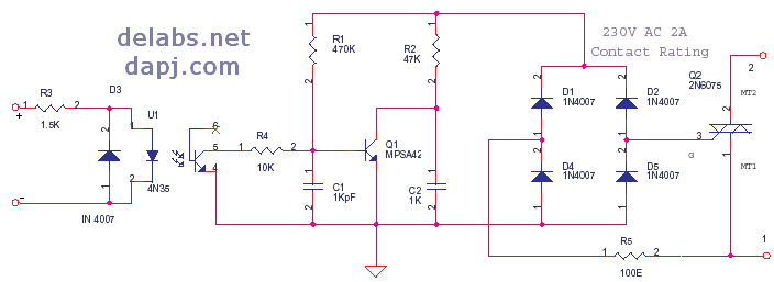 Circuit Diagrams: Normally Closed