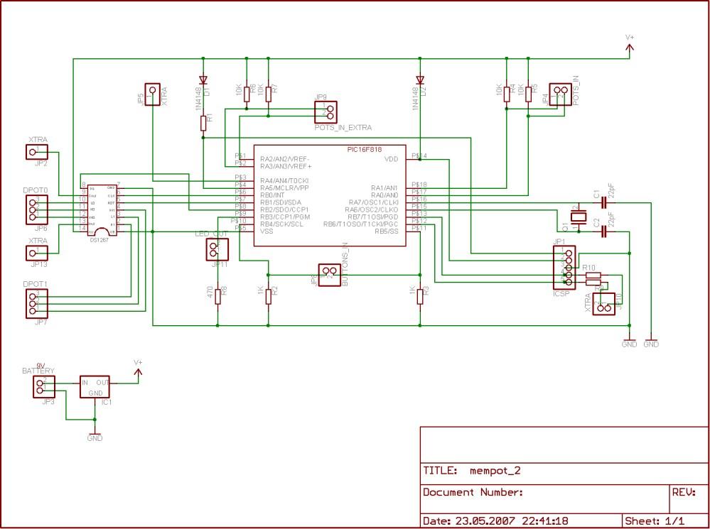 medium resolution of digital potentiometer with memory