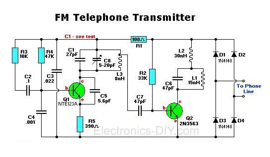 FM Telephone Transmitter