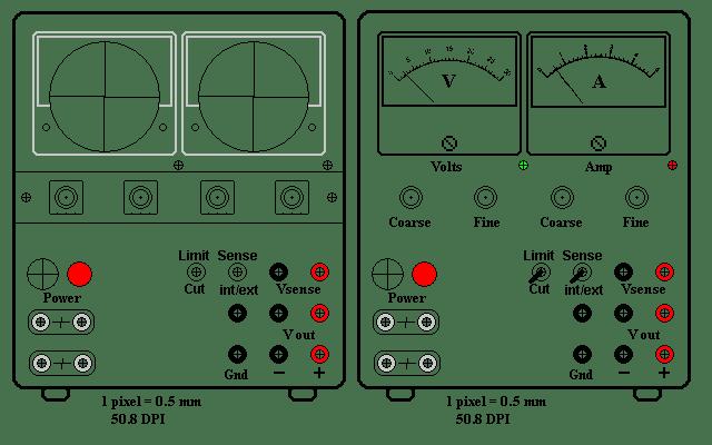 Laboratory Power Supply 24V 4A
