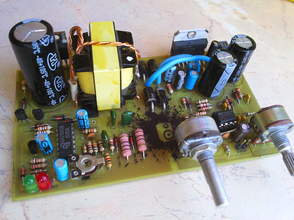 100w With Pcb Power Amplifier Circuit Circuit Schematic Electronics