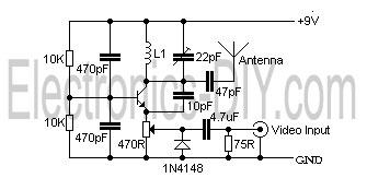 fpv transmitter wiring diagram single phase submersible starter camera vhf video