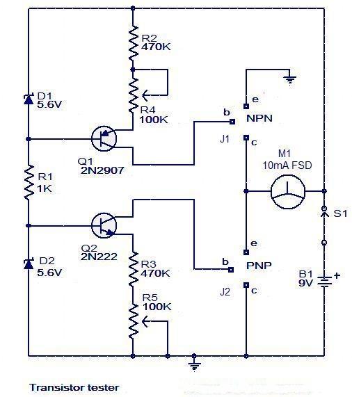Analog Thermostat Wiring Diagram Transistor Tester