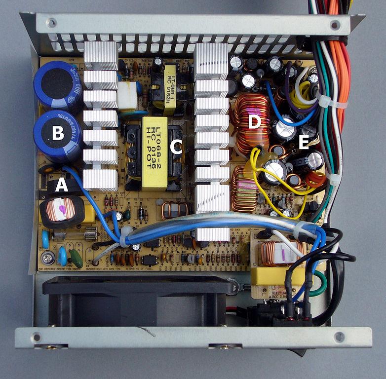 Atx Power Supply Circuit Diagram