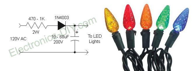 miniature christmas lights wiring diagram harley diagrams simple mini light manual e books eliminating led flickermini 13