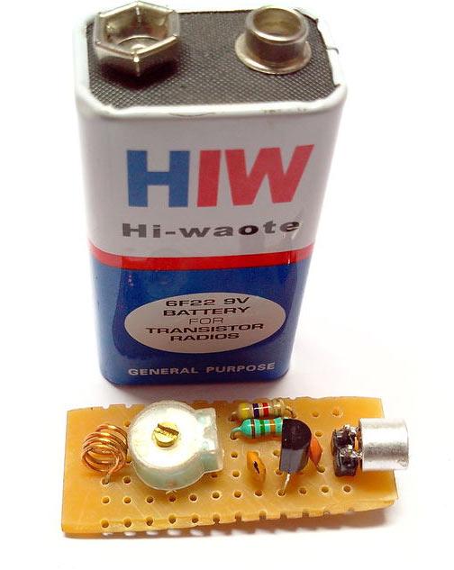 Miniature Fm Transmitter 5