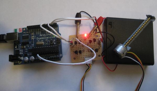 l298 h bridge circuit diagram 2006 chevrolet cobalt car radio stereo wiring driving cdrom stepper motor with arduino