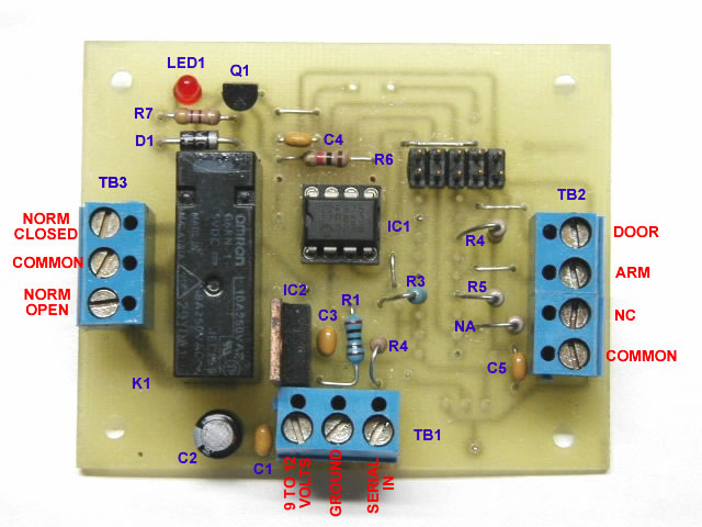 Pic Programmable Security System