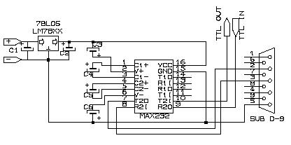 TTL RS232 Converter