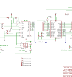 pic usb interface with ft245 usb interface schematic  [ 2298 x 1563 Pixel ]