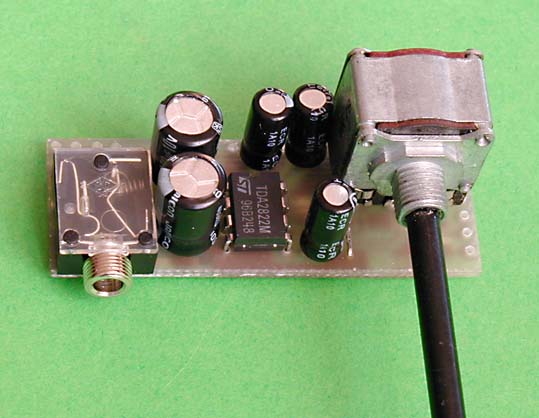 Microphone Mini Audio Amplifier Circuit Schematic Circuits Gallery