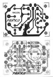 TDA2030 Amp OTL 15W