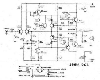 100W Power Amp
