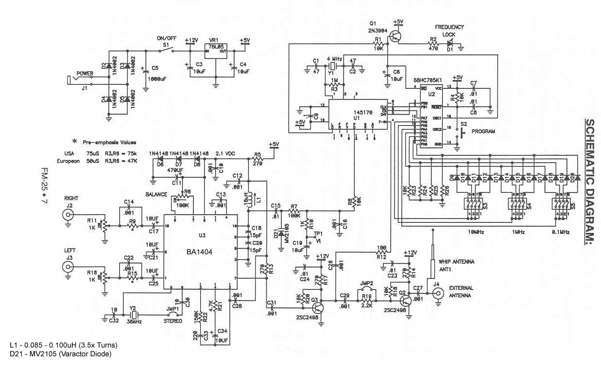 hight resolution of ramsey 25 ba1404 stereo fm transmitter