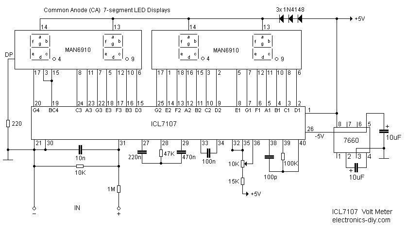 led display board circuit of a led display board