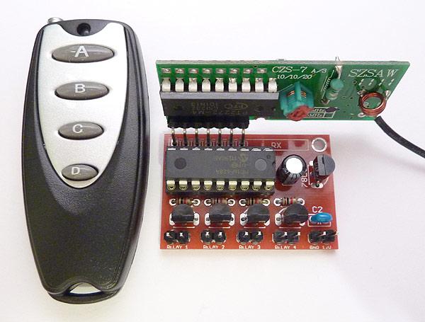 Wireless Rf Remote Control Doorbell Circuit Diagram