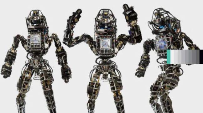Google/Boston Dynamics المصنع من قبل Atlas الشكل (1): الرجل الآلي