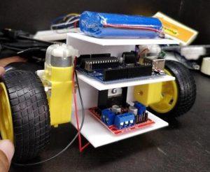 روبوت التوازن التلقائيّ بعد عملية التجميع