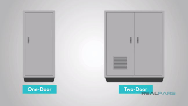 عدد أبواب الصُّندوق المعدني